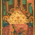 Antique icon, Cana Wedding