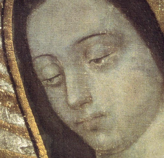 The Dual Nature of Christ in the Eyes of the Virgin